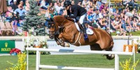 Eric Lamaze and Chacco Kid scored their second victory at the CSIO5* Spruce Meadows 'Masters' tournament, winning the $133,700 1.50m Suncor Energy Winning Round on Saturday, September 7, in Calgary, AB. <br/><b>Photo by Starting Gate Communications</b>